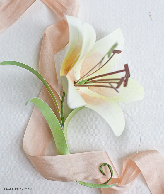 Paper Flower Lily