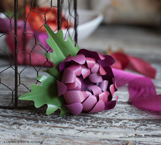 Paper Flower Mum