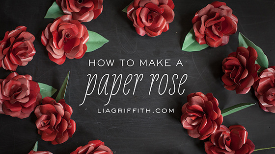Video tutorial the original paper rose lia griffith paper rose video tutorial mightylinksfo