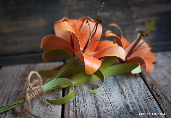 Paper Flower TigerLily