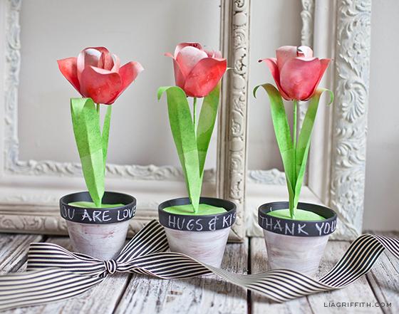 Paper Flower Tulips