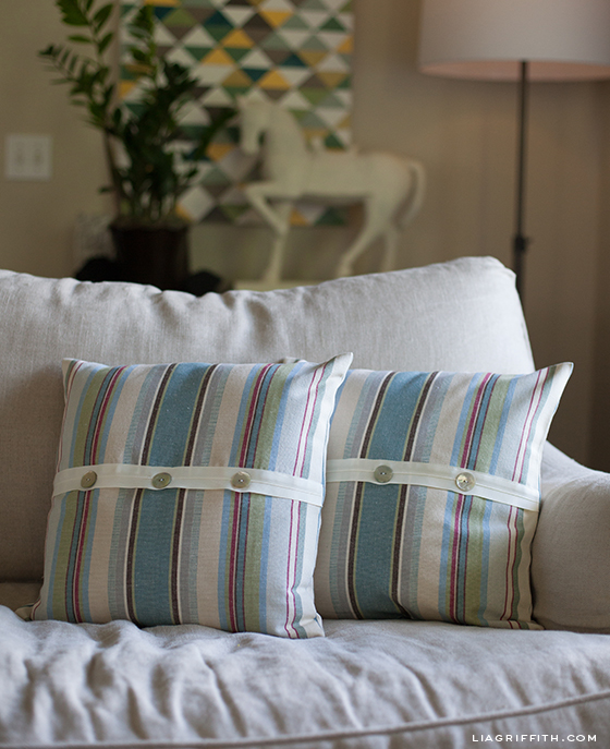 Annie Sloan Fabric Pillows