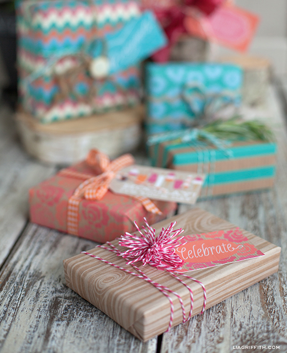 Creative gift wrapping ideas for your summer packages lia griffith gift wrapping ideas negle