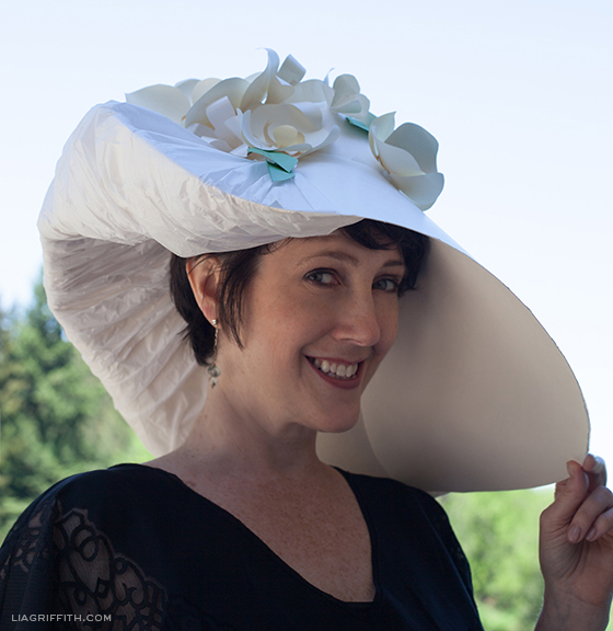Paper DIY Kentucky Derby Hat