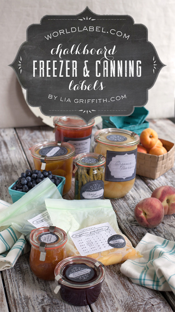 graphic about Jar of Nothing Printable Label Free named Printable Chalkboard Layout Freezer Canning Jar Labels