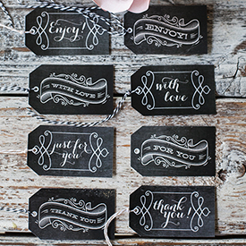 photo regarding Free Printable Chalkboard Labels titled Printable Chalkboard Reward Tags - Lia Griffith