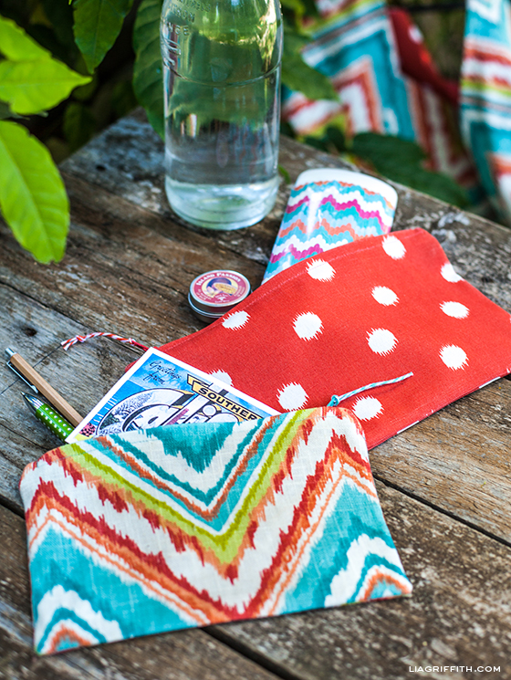 DIY Zipper Bags