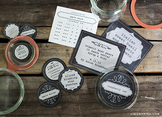 picture about Jar of Nothing Printable Label Free identify Printable Chalkboard Structure Freezer Canning Jar Labels