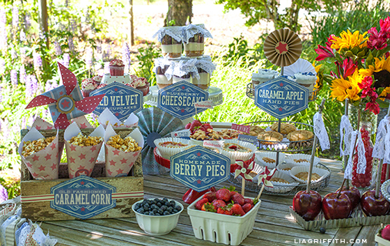 Fourth of July Treat Table
