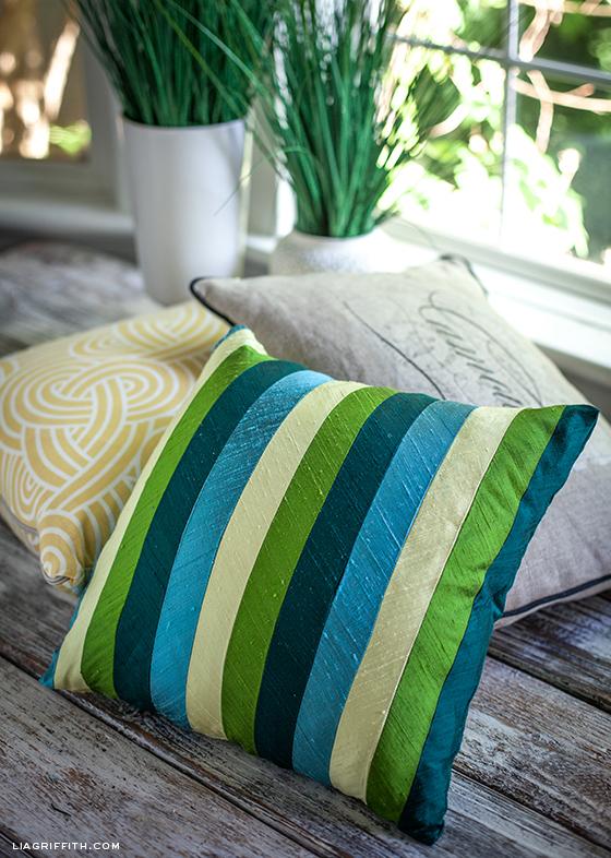 Midori Ribbon Pillow Cover
