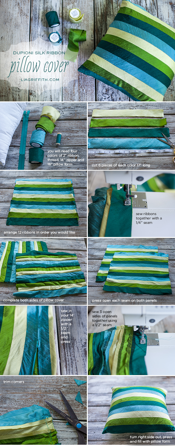 Silk Pillow Tutorial