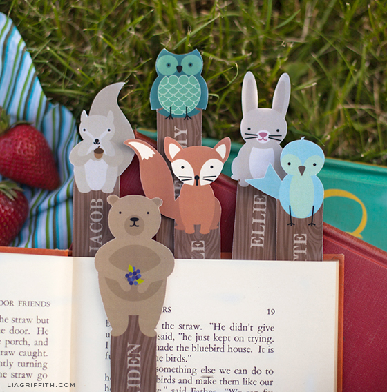 WoodlandPersonalizedBookmarks