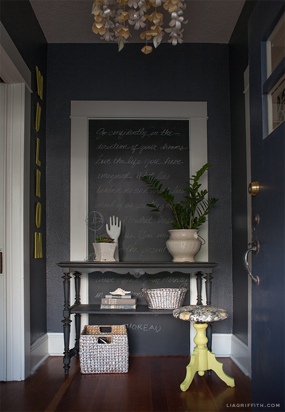 My Home Tour The Entryway Lia Griffith