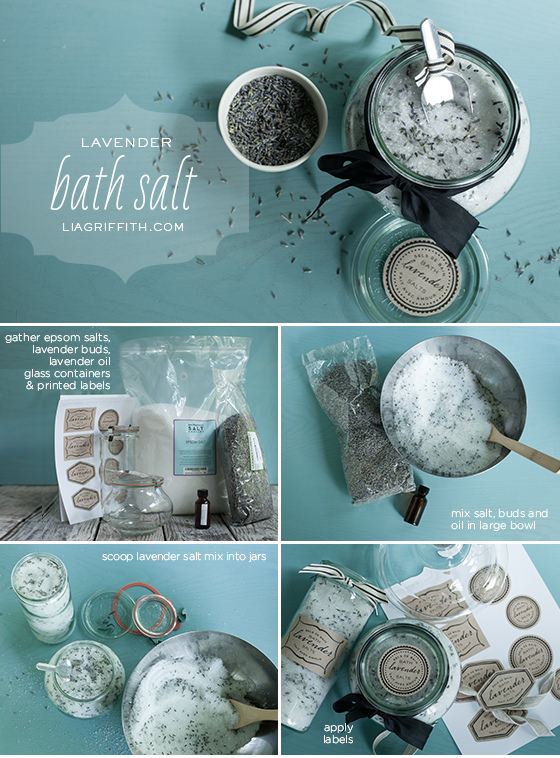 Lavender Bath Salt Tutorial