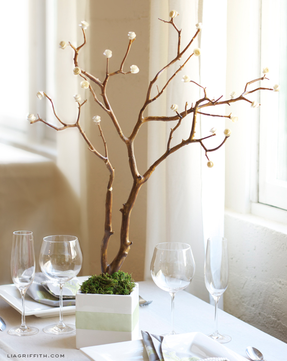 Rose Tree Centerpiece