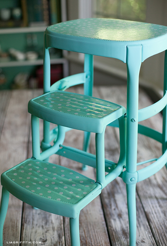 Before and After My Vintage Step Stool : metal step stool chair - islam-shia.org