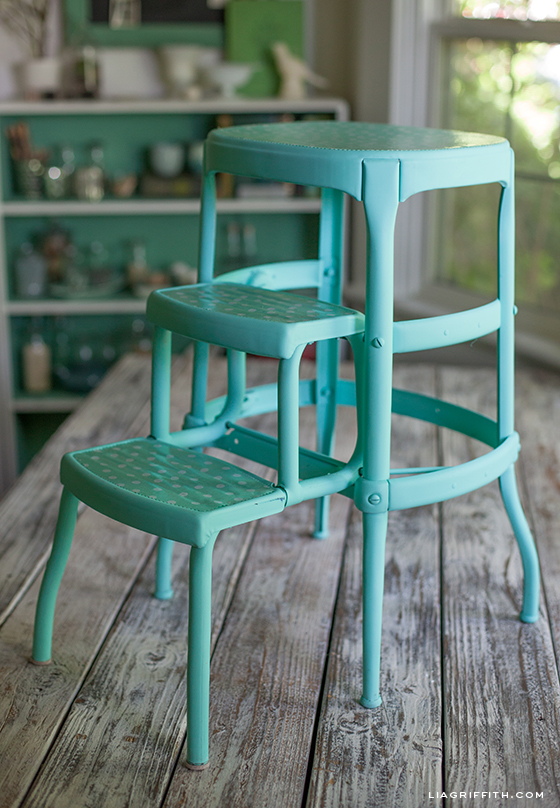 Love It & DIY Upcycled Vintage Step Stool islam-shia.org