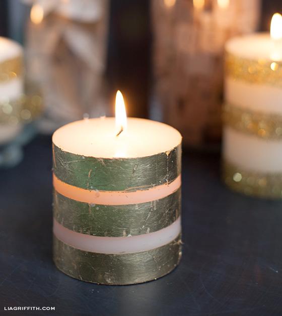 DIY Foil Candle