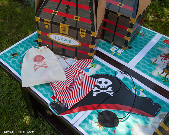 Pirate Party Costume Box