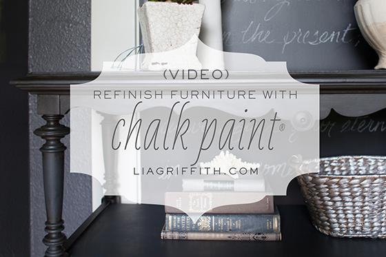 Video Tutorial On My Favorite Chalk Paint Technique