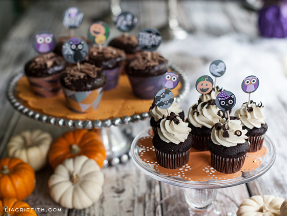 Cupcake Toppers Wraps