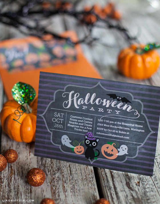 Printable Halloween Party Invitation – Costume Party Invitations Free Printable