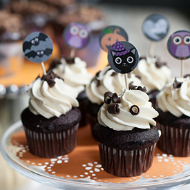 halloween cupcake ideas - Halloween Decorations Cupcakes