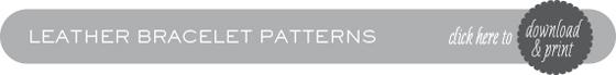 LeatherBraceletPatternButton