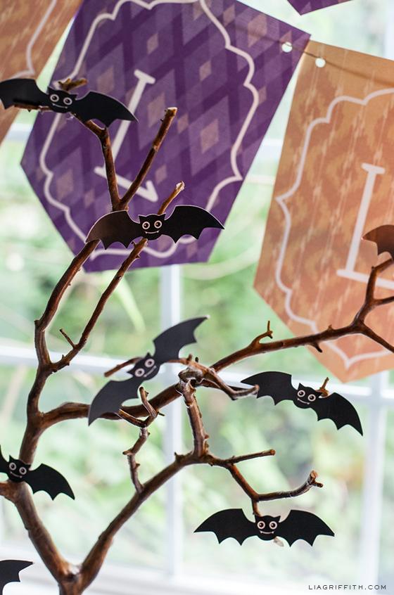 Mini Bats Free Printable