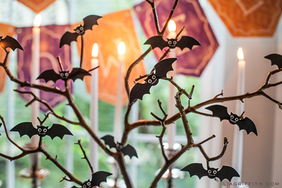 Printable Decorative Mini Bats