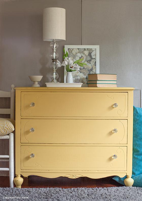 Love It Yellow Chalk Paint Dresser