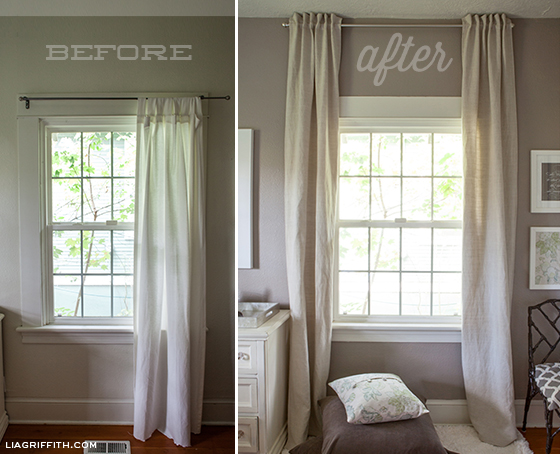 Curtains Before After