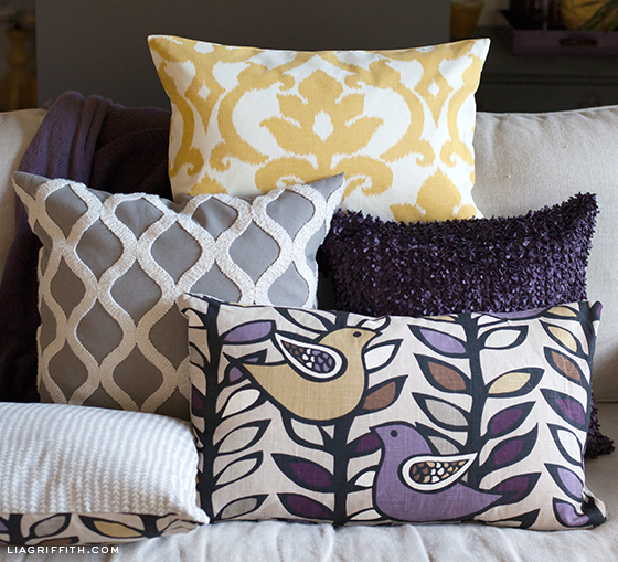 Easy DIY Pillow Covers Delectable Making Pillow Covers
