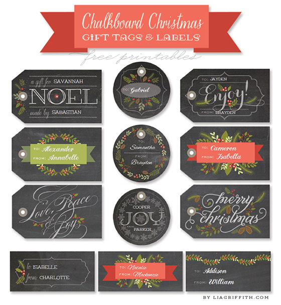... christmas gift labels gift tags gift wrap gift wrapping printables