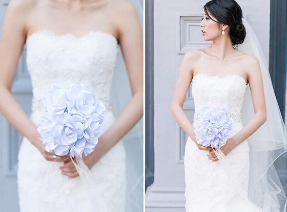 WeddingFlowersPaperBridal