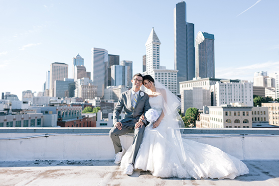 WeddingSeattleSkyline