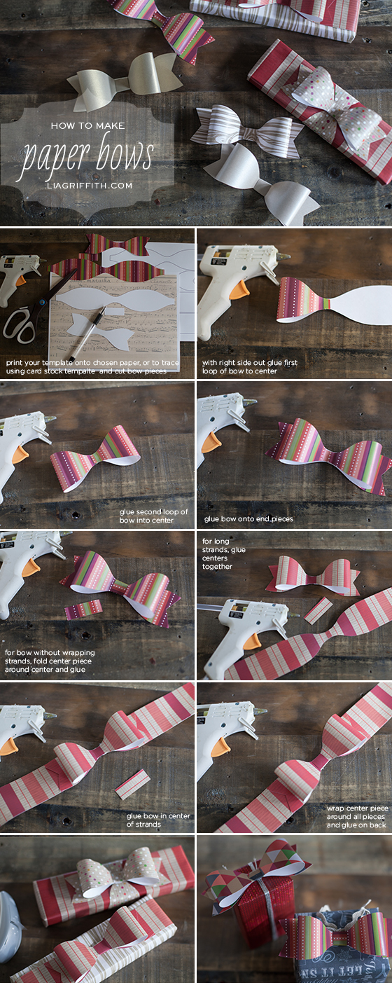 Make an Origami Bow | Origami bow, Origami easy, Origami ribbon | 1406x560
