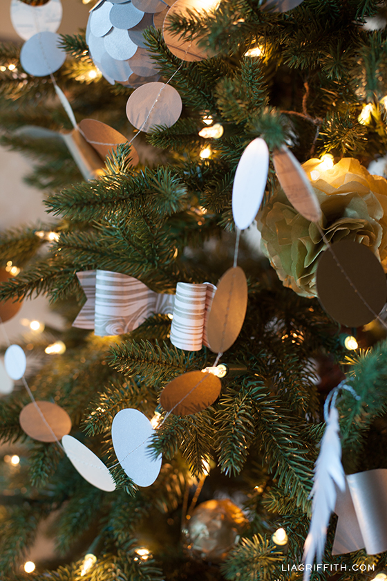 DIY Tree Garland
