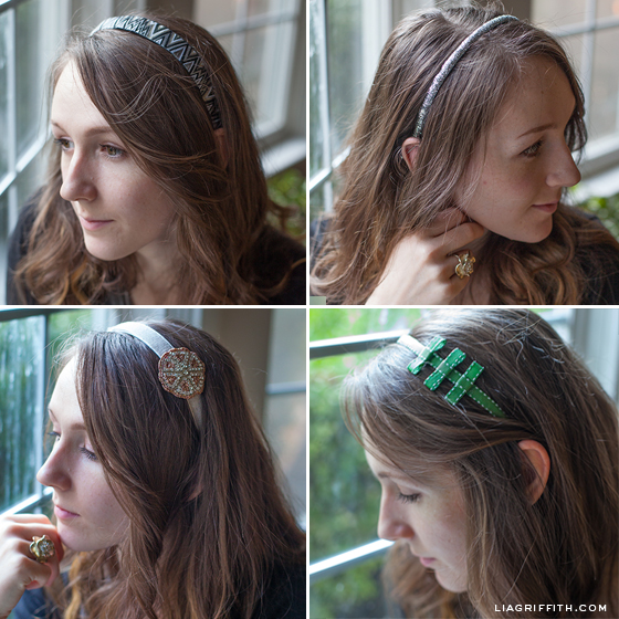 Four DIY Headbands