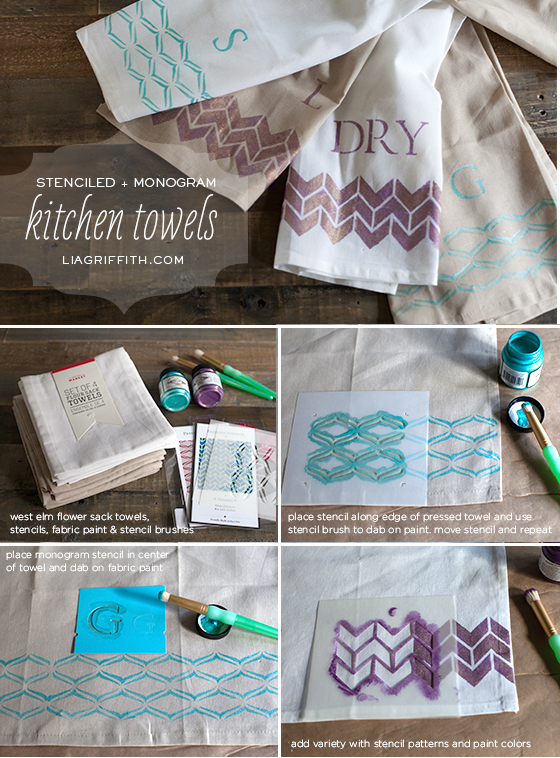 Stencil Towel Tutorial