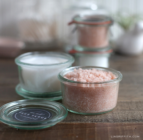 How to Make Face Scrub with Sea Salt