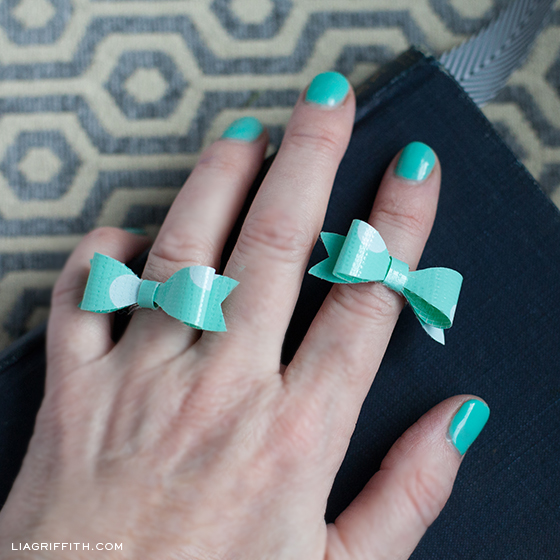 Mini Bow Rings