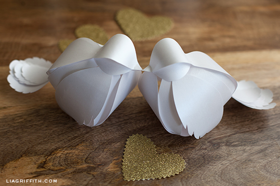 Paper Love Birds Video Tutorial
