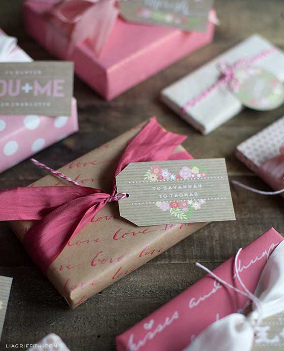 Personalized Gift Tag Printables