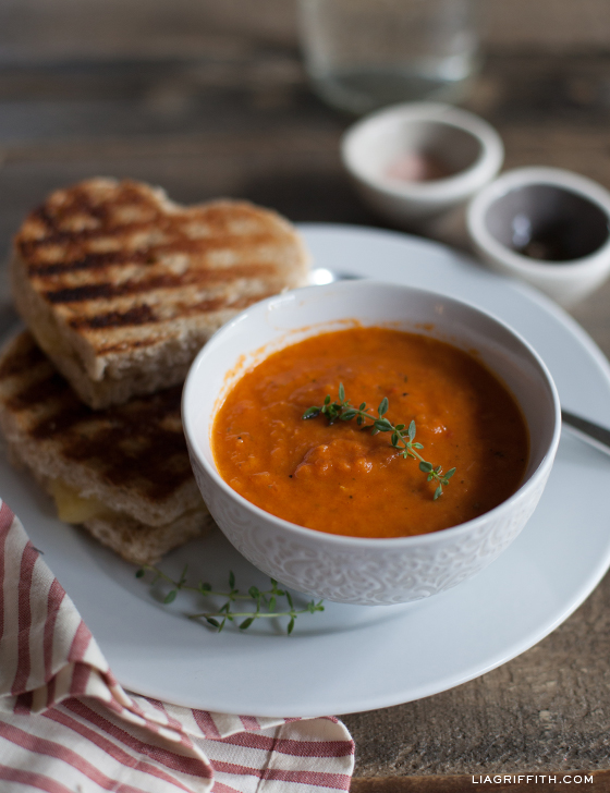 Recipe for Tomato Orange Soup