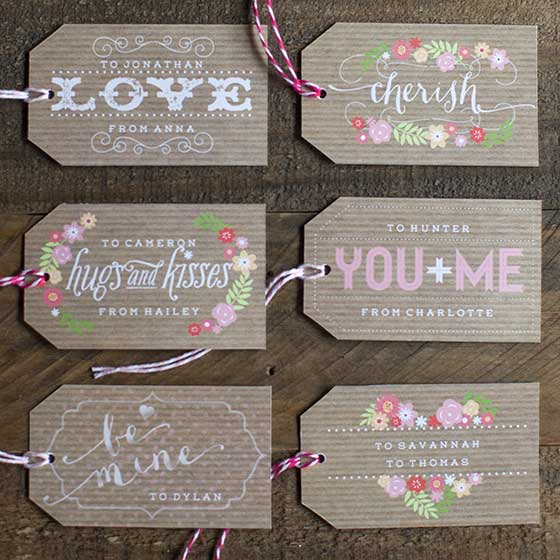 Printable Valentine S Day Gift Tags To Download Today