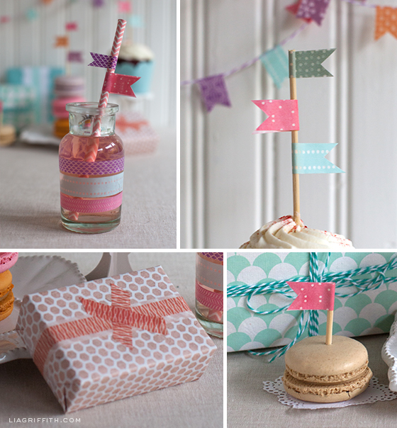 Washi Tape Party Decor