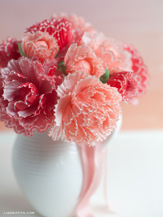 Paper peonies from cupcake wraps mightylinksfo Choice Image