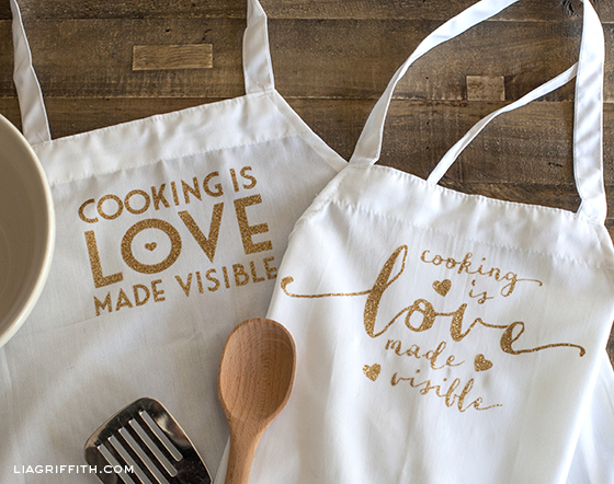 Cooking is Love Personalized Apron