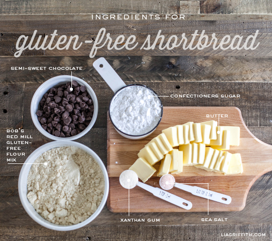 GlutenFreeShortbreadIngredients